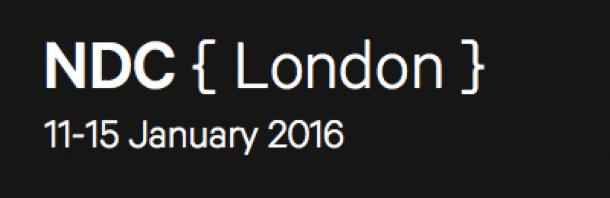 NDC {London} 11-15 January 2016